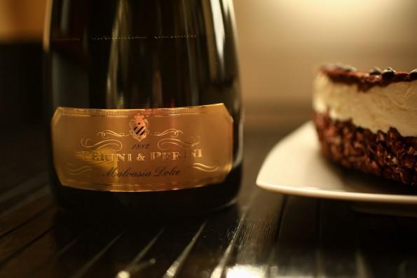 Abbinamento vino per cheesecake al cioccolato