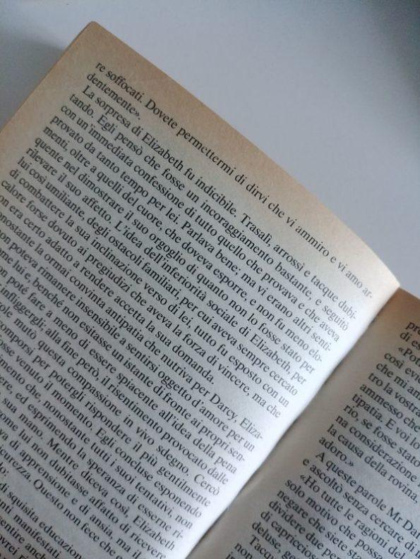 Nel capitolo 33 Mr.Darcy dichiara il suo amore a Elizabeth