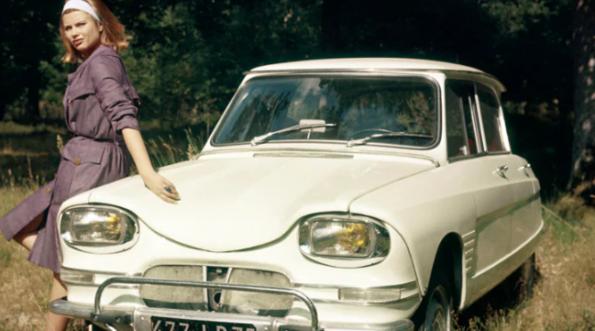 Fari della Citroën Ami 6