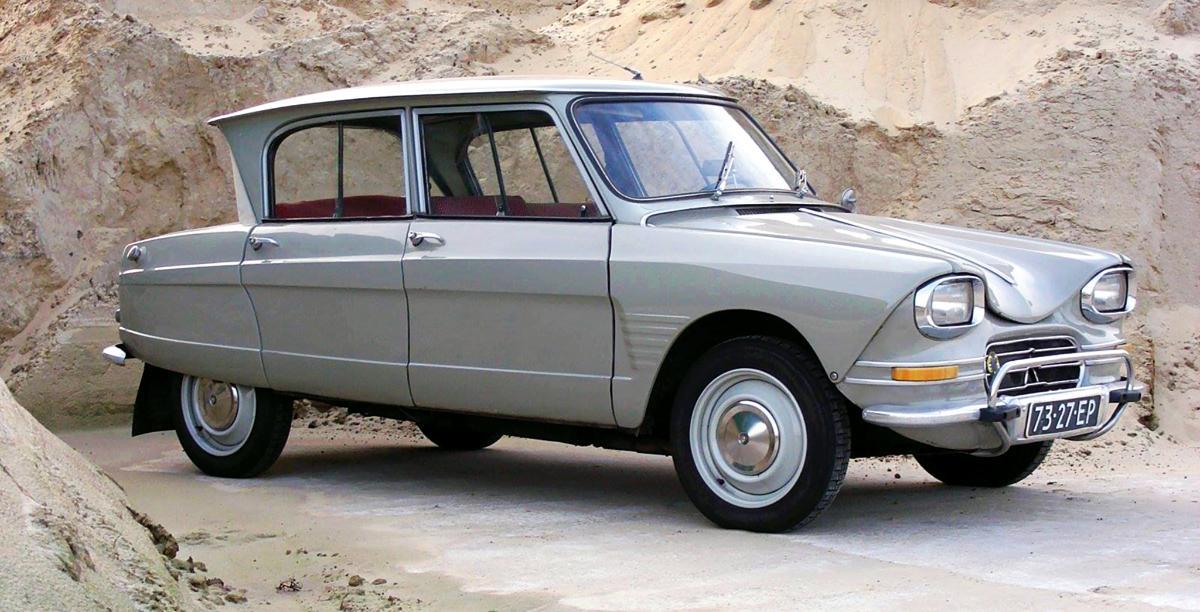Citroën Ami grigia