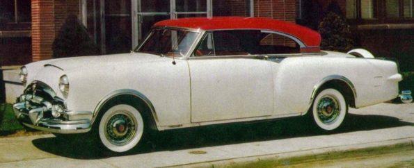 La Packard Balboa è uno dei modelli americani a cui guarda Bertoni