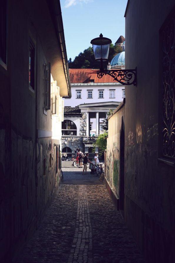 Strade di Ljubljana