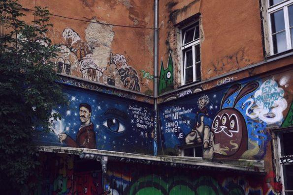 Quartiere degli artisti a Ljubljana